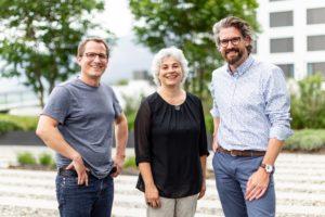 Unser Gründerteam an der HWSGR Chur