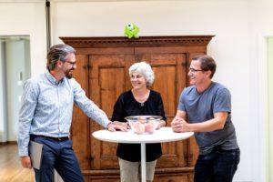 Die drei Gründer der HWSGR in Chur