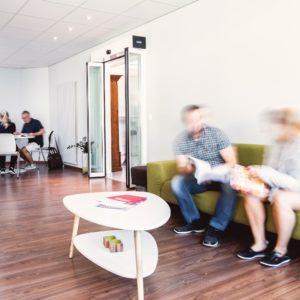Die Lounge der HWSGR Chur